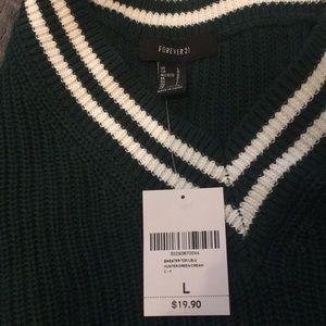 Forever 21 oversize varsity sweater